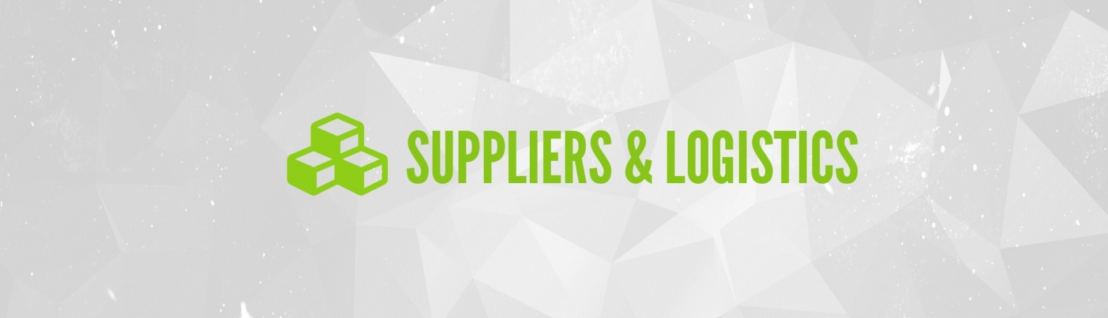 Supplier and Logistics Header