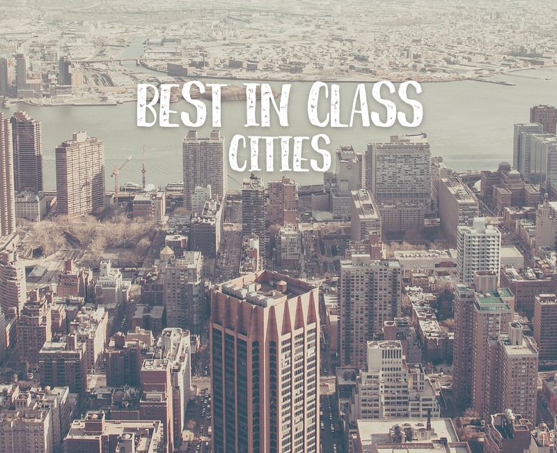Which Cities are best in class?